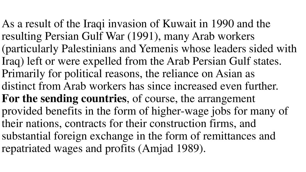 an overview of the reason for invasion of kuwait by the iraqis Persian gulf war: causes of iraq invasion of kuwait - persian gulf war history and information center.