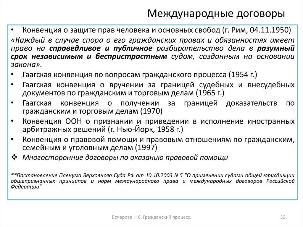 конвенция по вопросам гражданского процесса