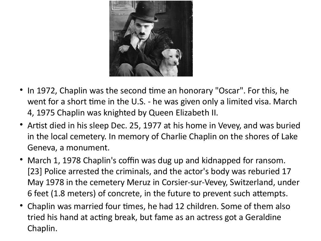 biography charlie chaplin Charlie chaplin atuou, dirigiu, escreveu, produziu e financiou seus pr prios filmes, sendo fortemente influenciado por um antecessor, o comediante franc s max linder, a quem dedicou um de seus filmes.