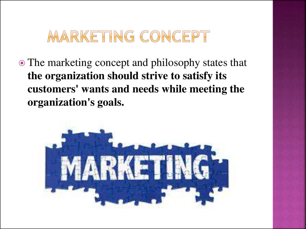 fundamental marketing concept This unit aims to provide learners with an introduction to the fundamental concepts and principles that underpin the marketing process in a.