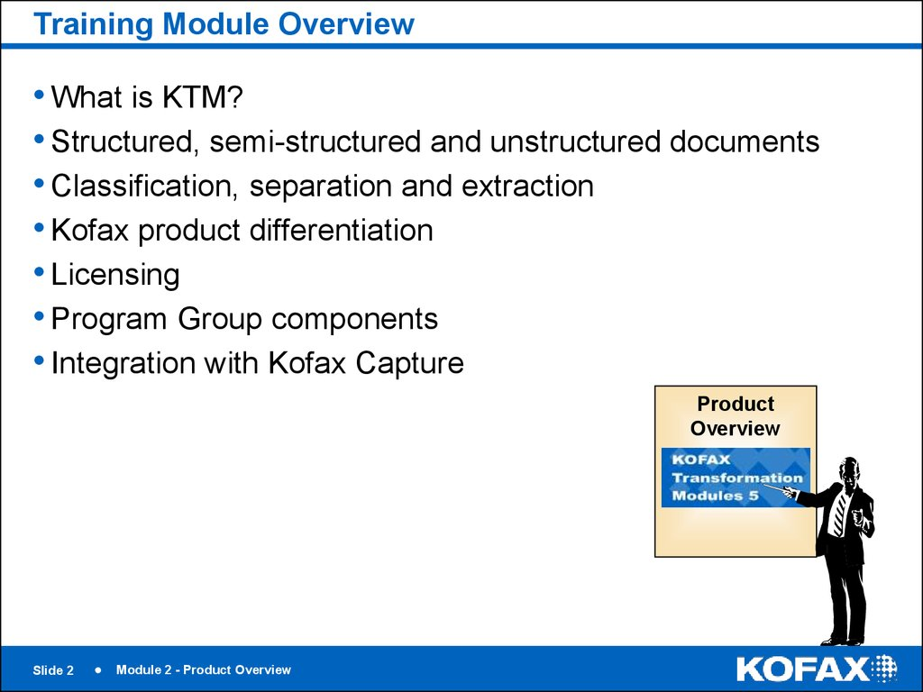 Training Module Overview
