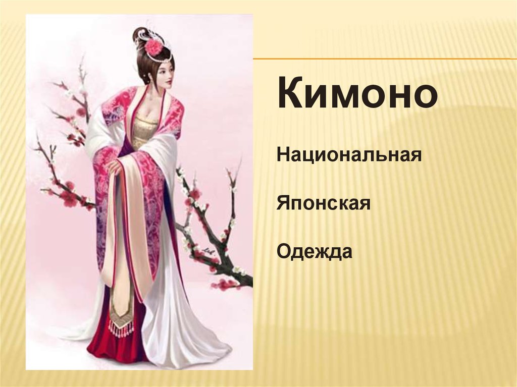 b6bf0506491 Традиционная японская одежда - презентация онлайн