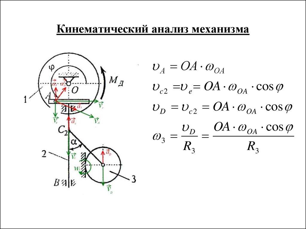 Курсовая работа по теоретической механике презентация онлайн Курсовая работа по теоретической механике Расчетная схема и исходные данные Кинематический анализ механизма