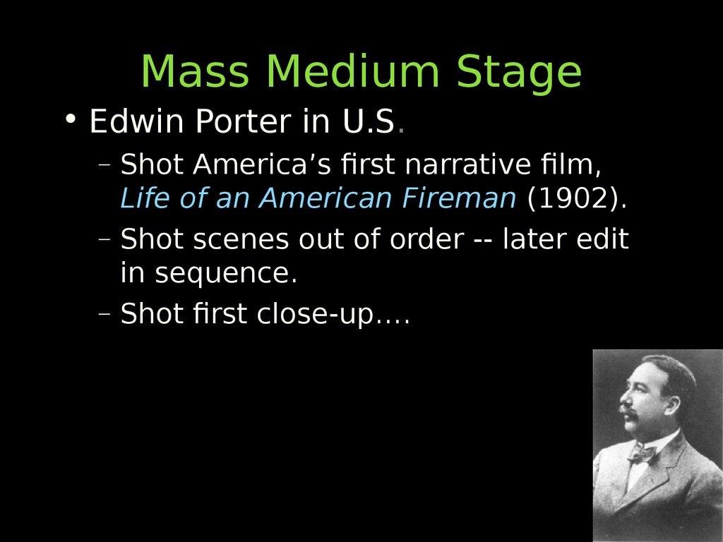 Mass Medium Stage