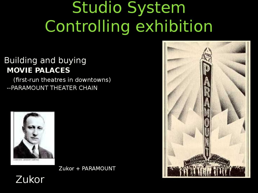Studio System Controlling exhibition