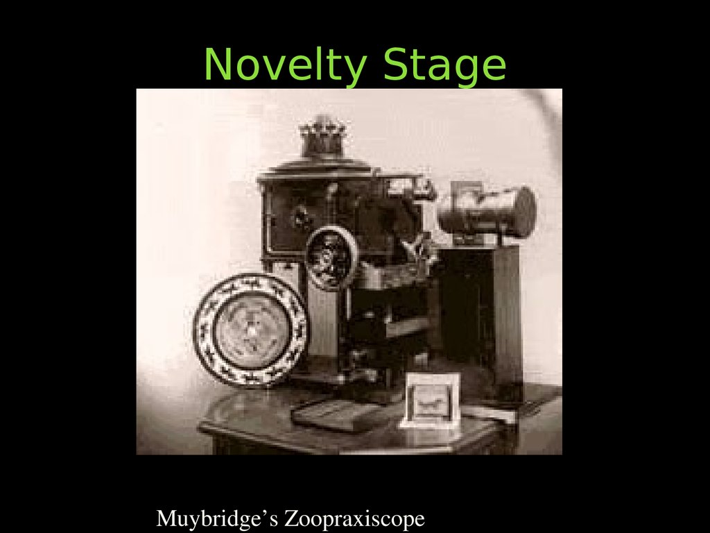 Novelty Stage