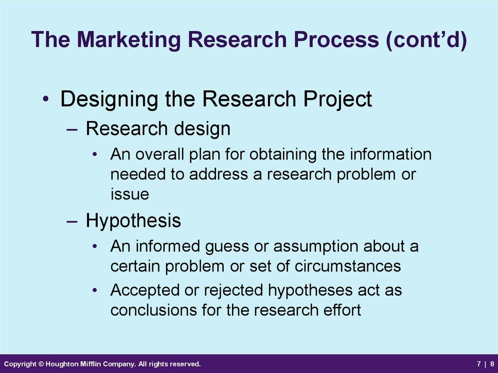 chap04 marketing research