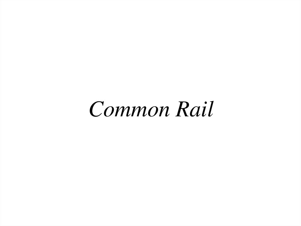 Common Rail