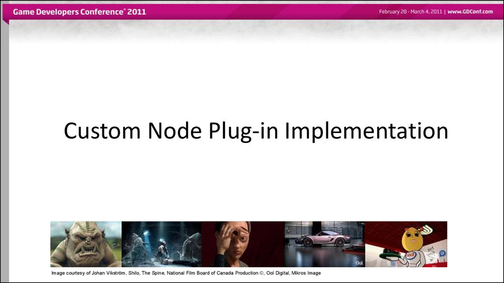 Custom Node Plug-in Implementation