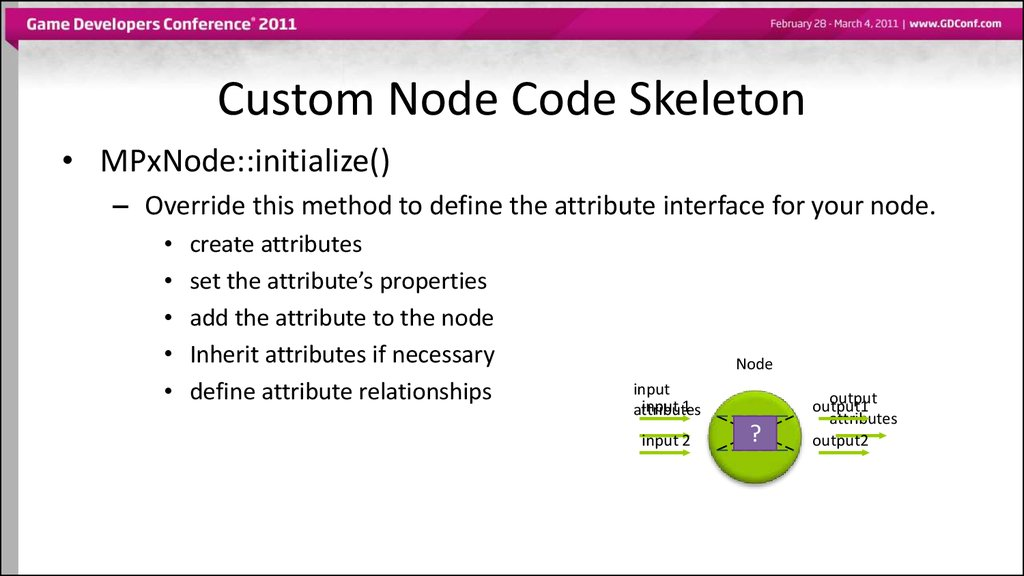 Custom Node Code Skeleton