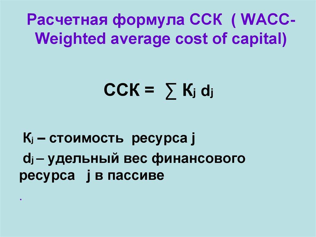 Внутренняя норма доходности проекта IRR формула пример