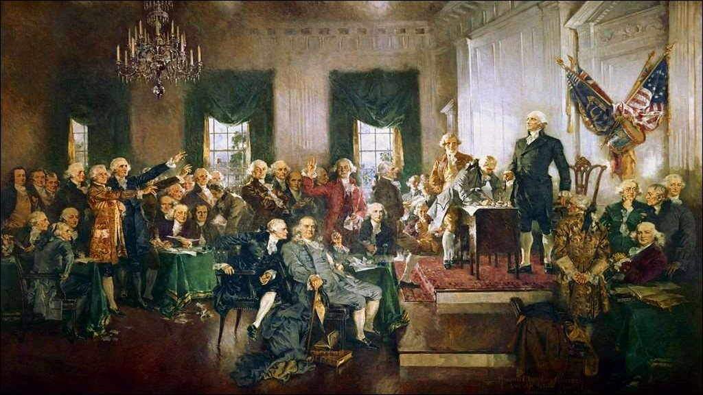 an analysis of the factors have made it possible for a constitution in 1787 Only one, the international slave-trade clause, points to a possible future power by which, after 20 years, slavery might be curtailed—and it didn't work out that way at all.