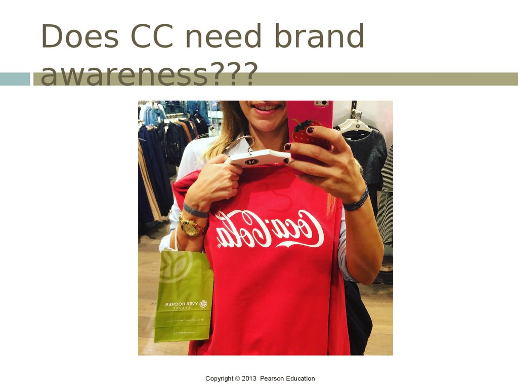 Does CC need brand awareness???