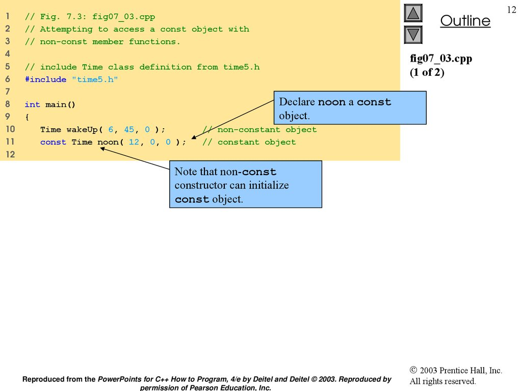 fig07_03.cpp (1 of 2)