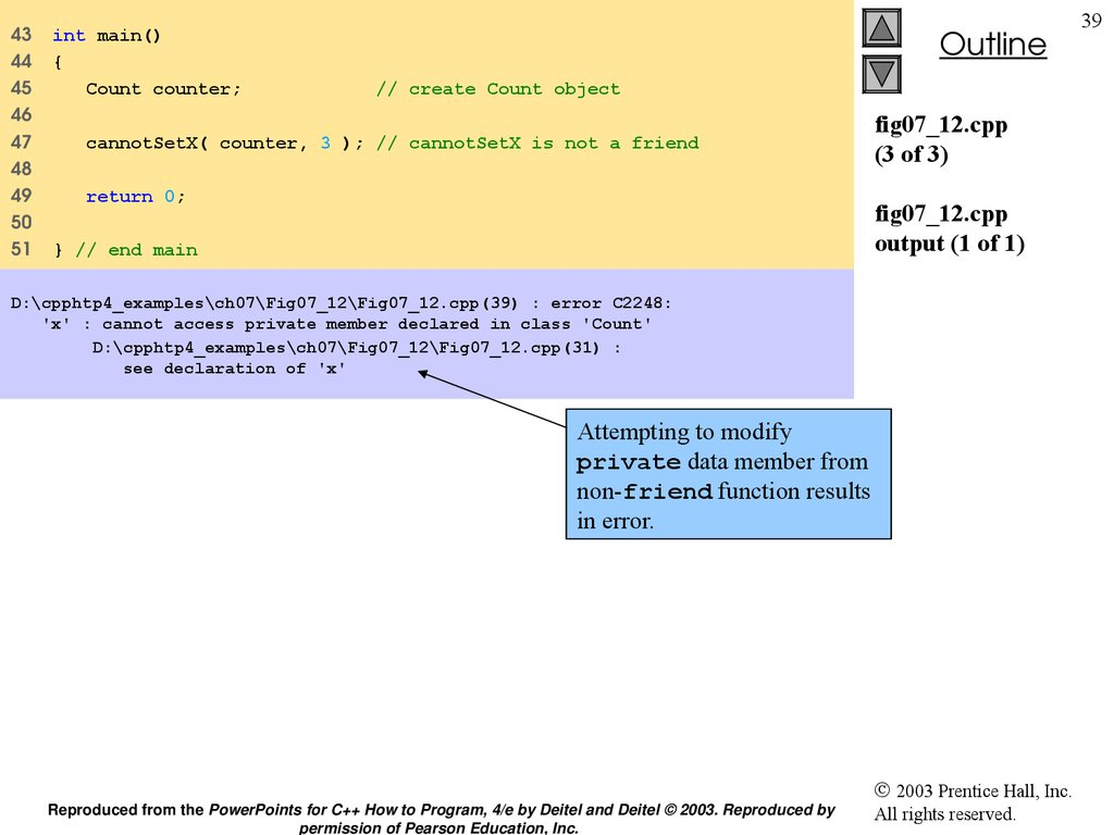 fig07_12.cpp (3 of 3) fig07_12.cpp output (1 of 1)