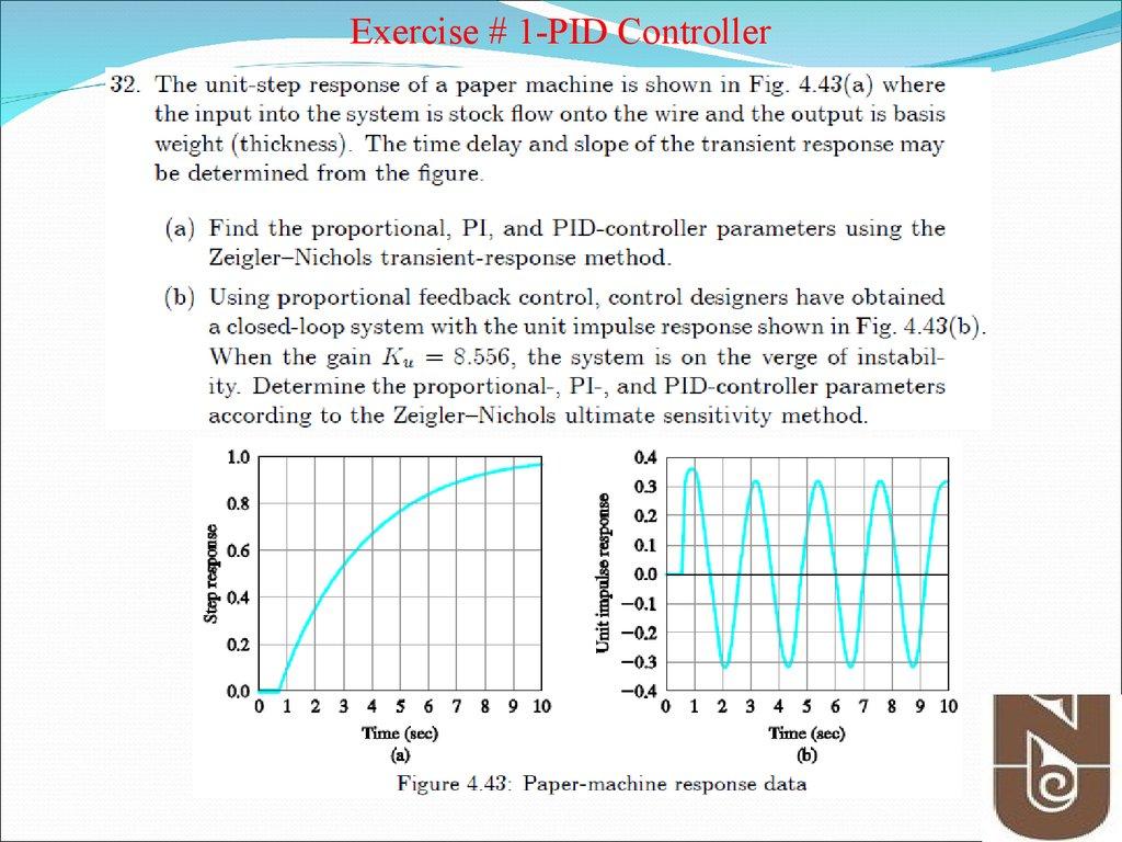 PID controller Design - online presentation