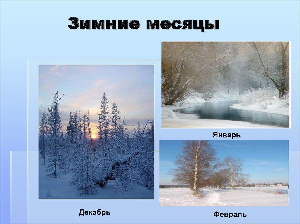 Картинки месяца года январь