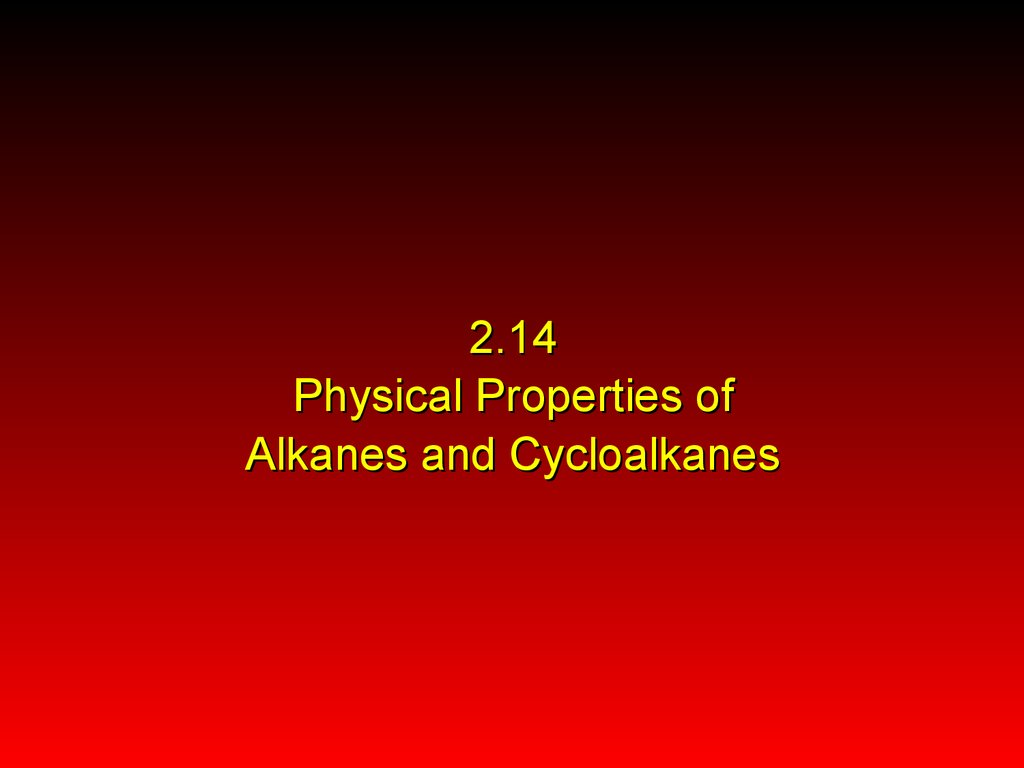 Sources of alkanes and cycloalkanes  Crude oil - online