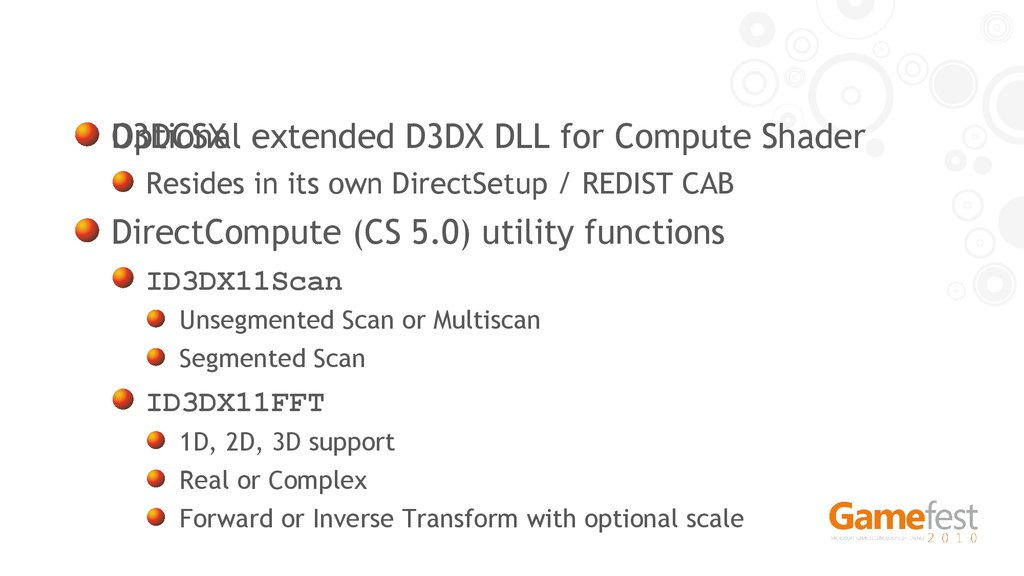 Directx 11  Technology update - презентация онлайн