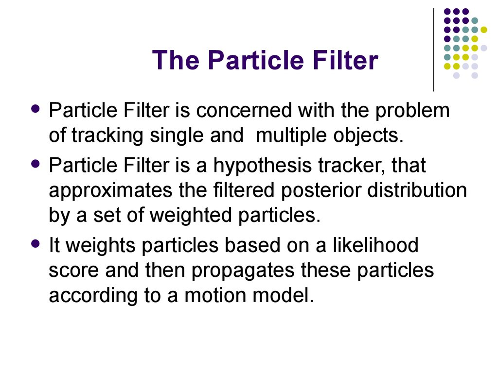 The Particle Filter