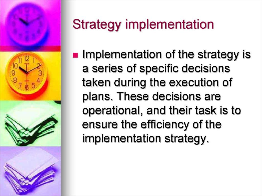 Marketing management - online presentation