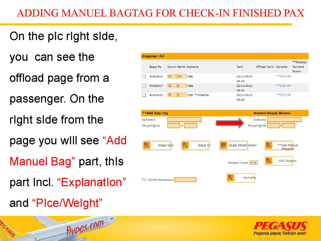 ADDING MANUEL BAGTAG FOR CHECK-IN FINISHED PAX