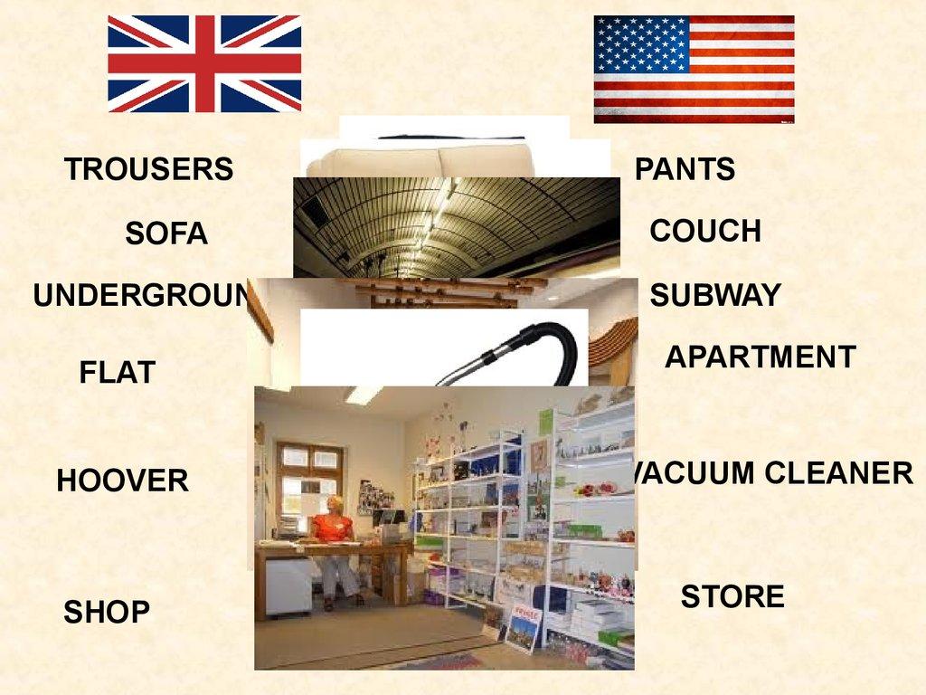 British english vs. american english - online presentation