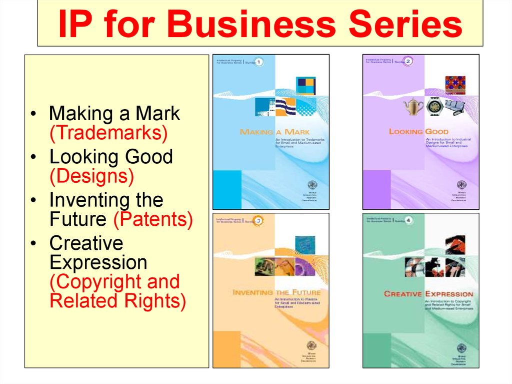 IP for Business Series