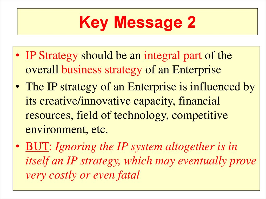 Key Message 2