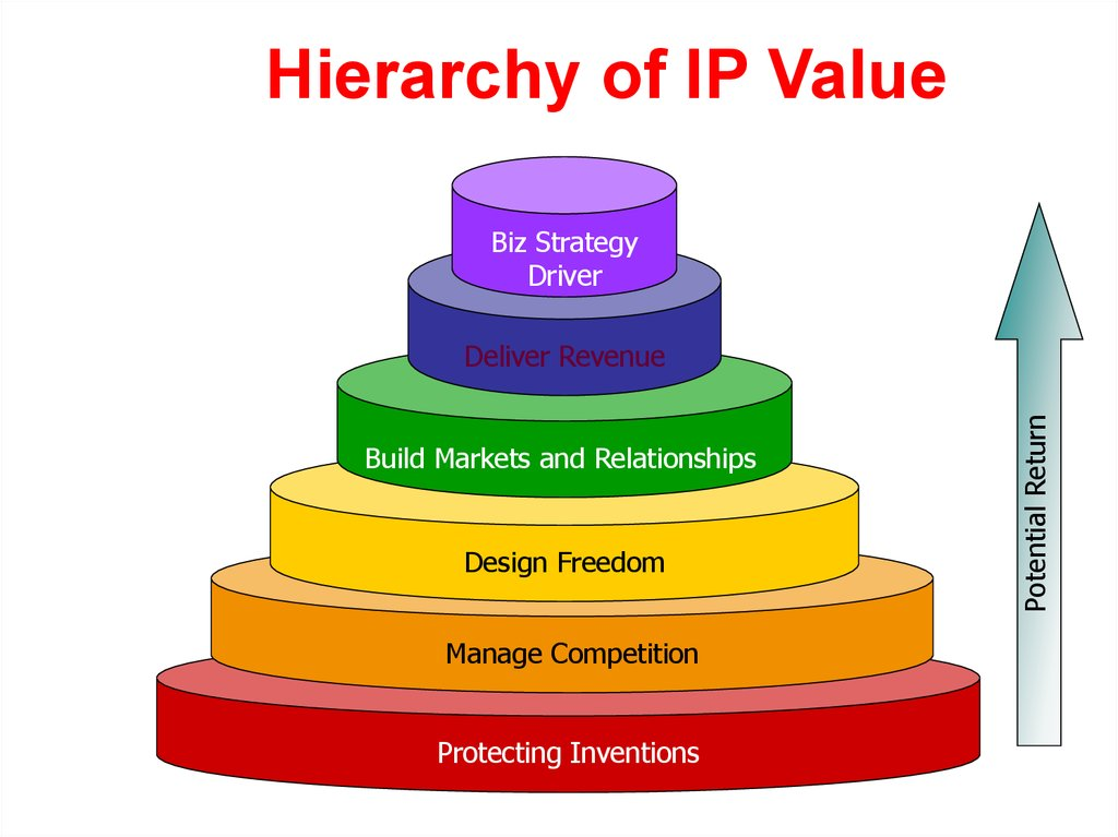 Hierarchy of IP Value