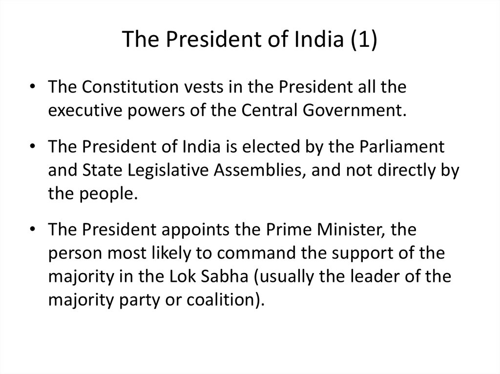 The President of India (1)