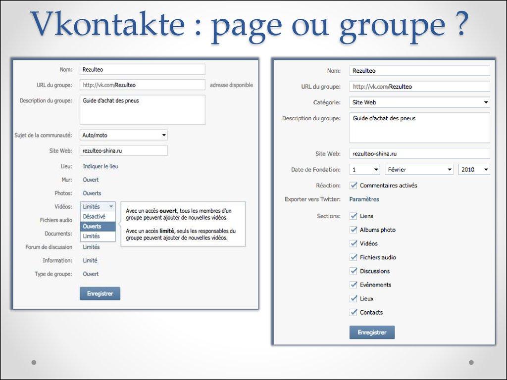 VK vs Facebook - презентация онлайн