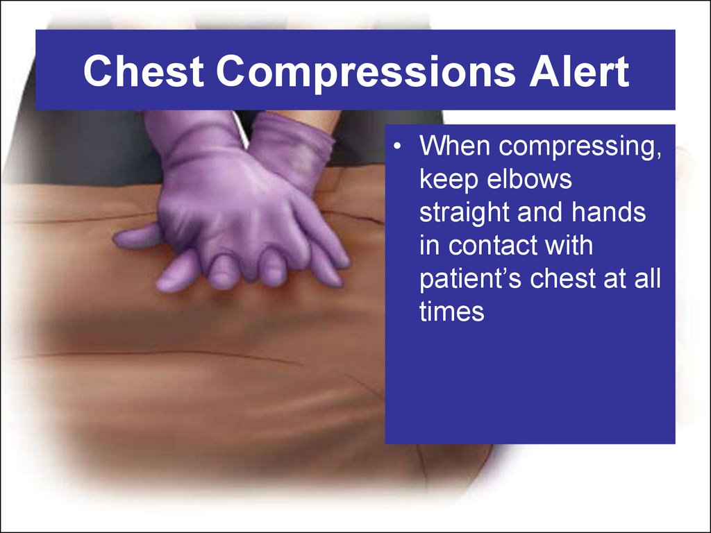 Chest Compressions Alert