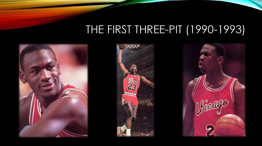 The first three-pit (1990-1993)