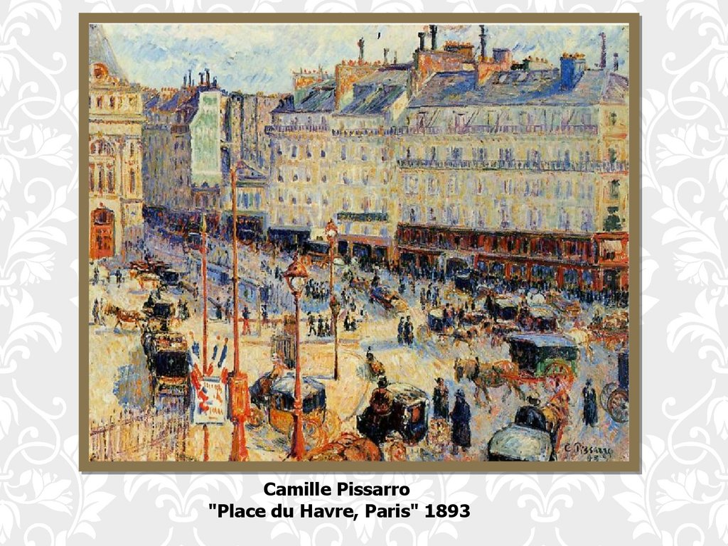 The influence of impressionism on the painting and music - online ...