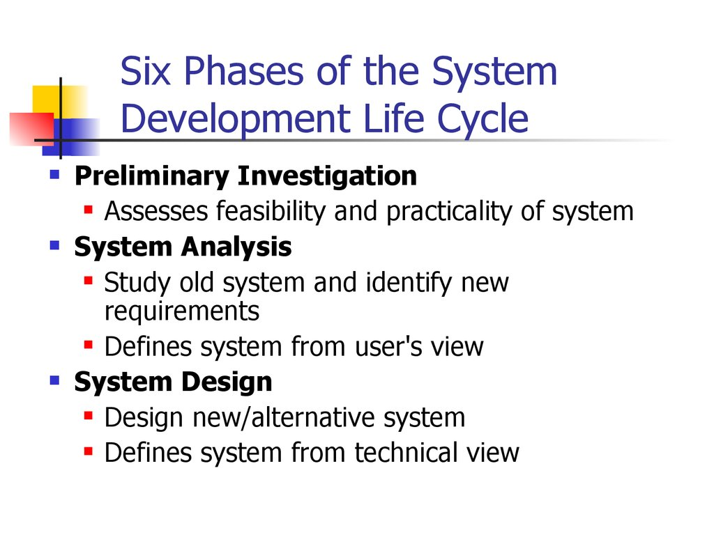 System Development Life Cycle Sdlc Cs208 презентация