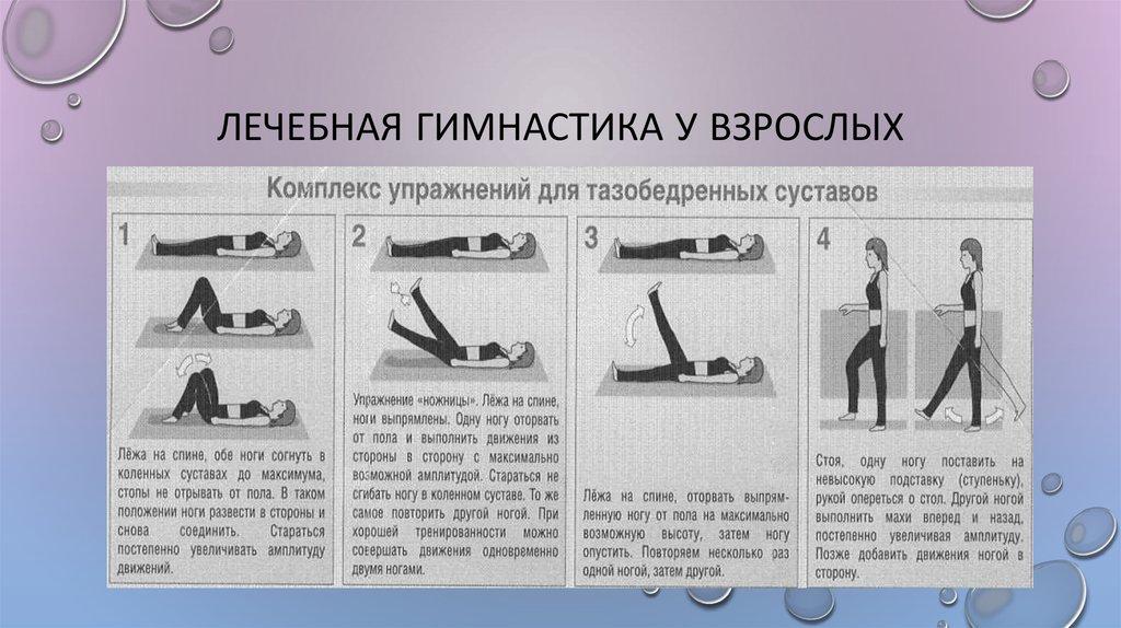 Упражнения для лечения артроза коленного сустава