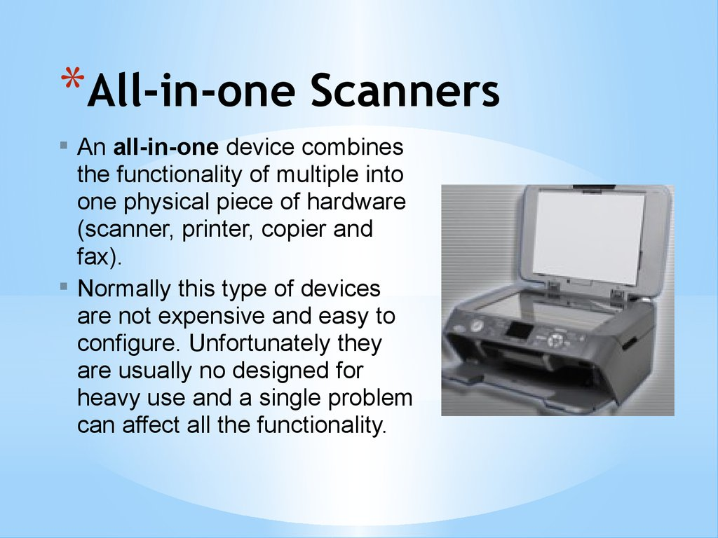All-in-one Scanners