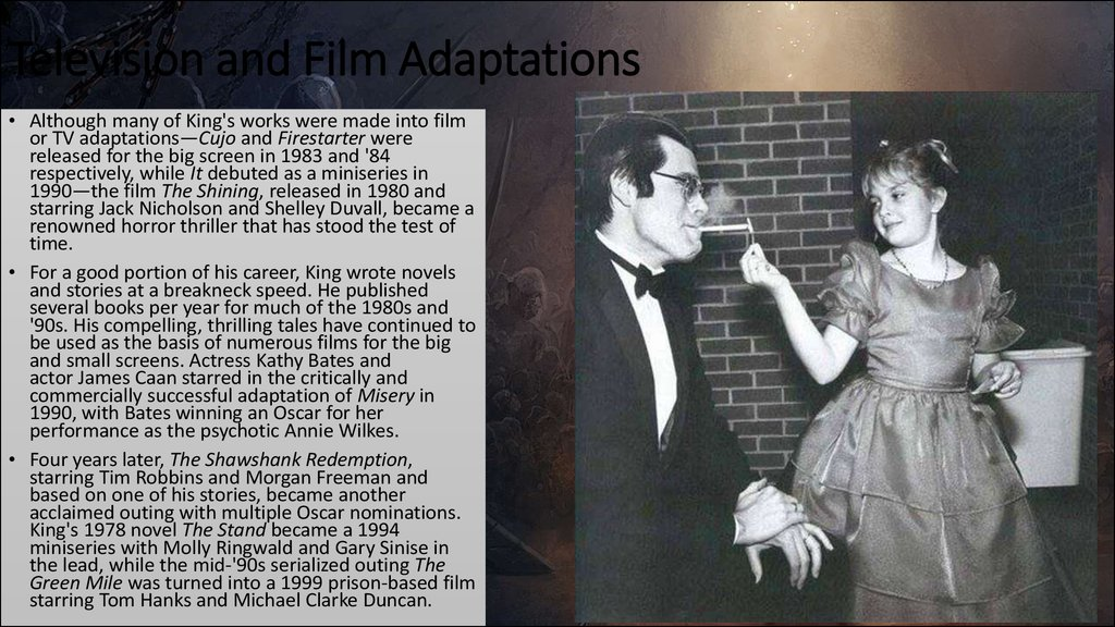 Television and Film Adaptations