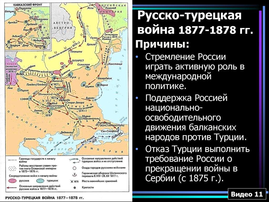 гдз история кк русско-турецкая война-1877 1878