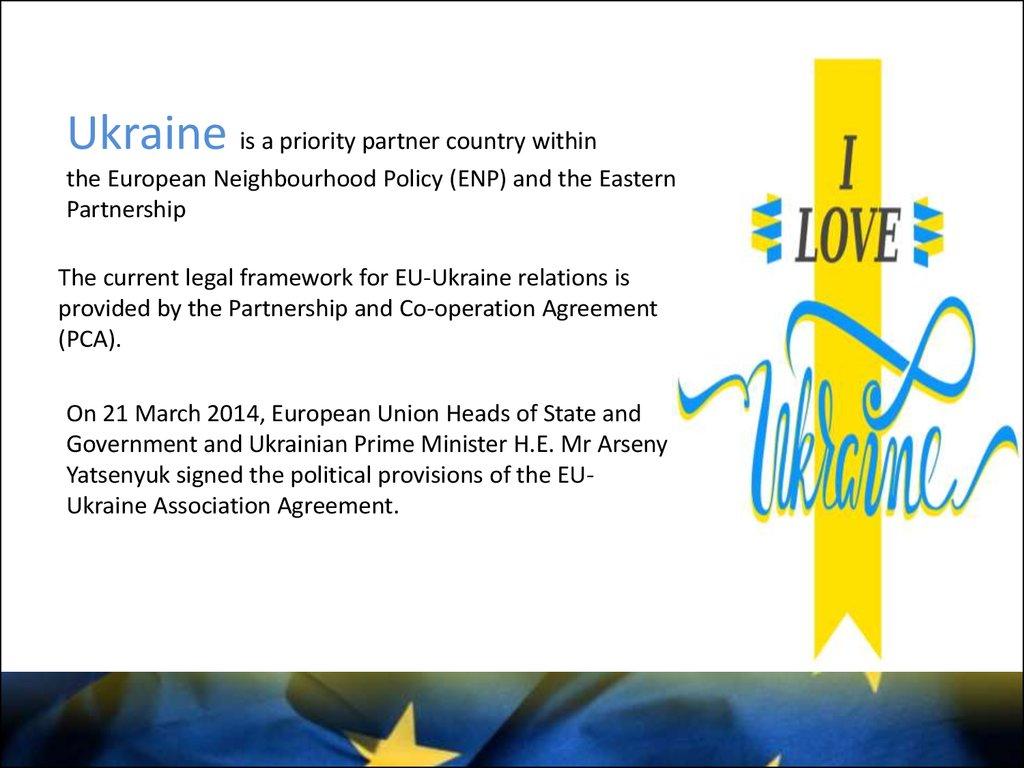 European Integration Of Ukraine Online Presentation