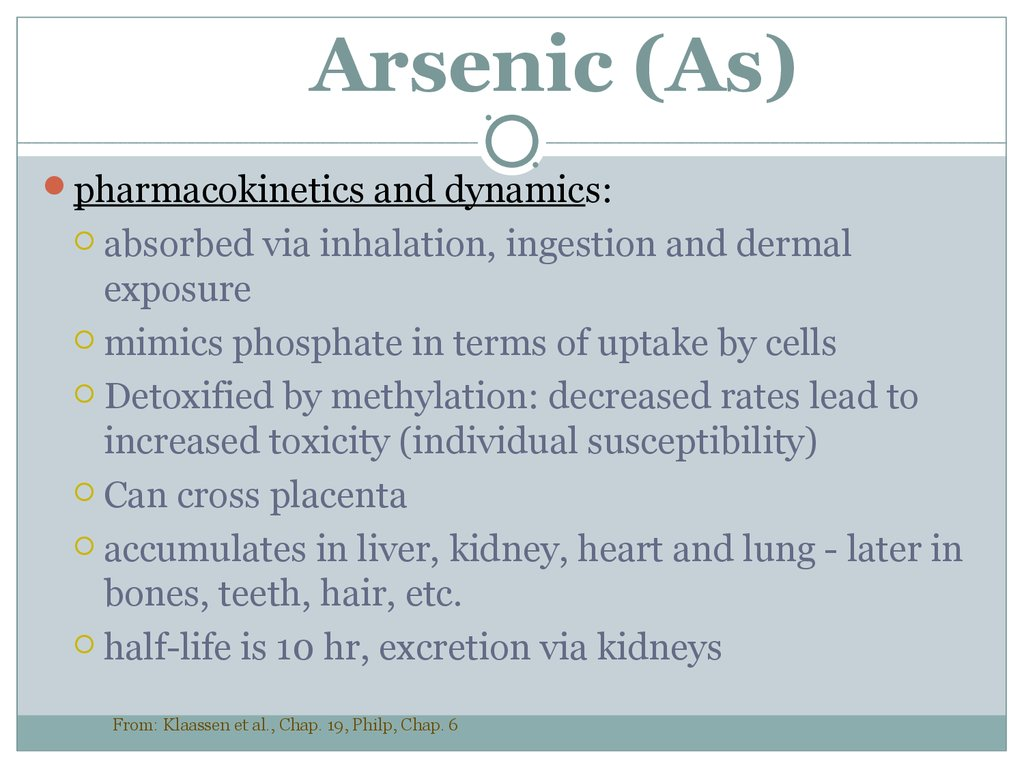 Arsenic (As)