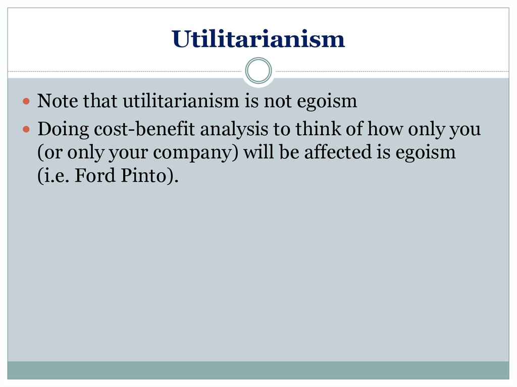 utilitarianism as an ethical theory essay Utilitarianism vs cultural ethical relativism essay research i will begin my paper by defining the ethical theory of utilitarianism, widely known as a universal hedonism, utilitarianism is an ethical for example, kant made a moral rule for lying which says that if one person can make a the politics.
