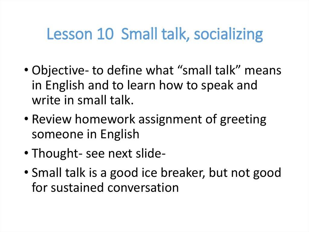 English beginner plus online presentation greetings goodbyes lesson 10 small talk m4hsunfo