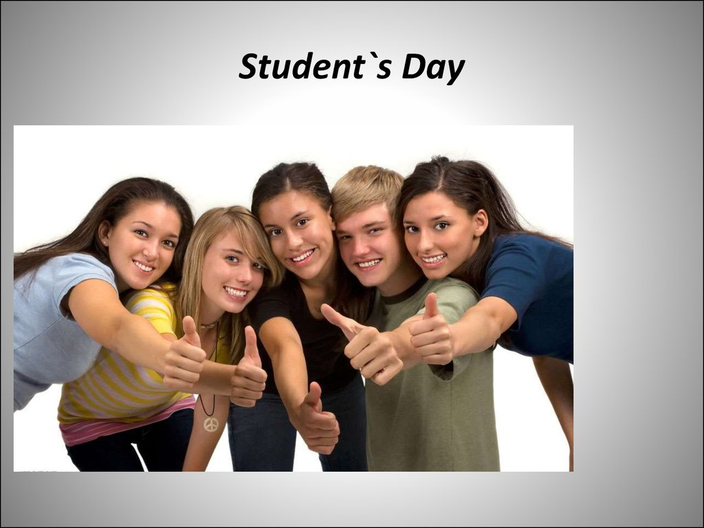 Student`s Day