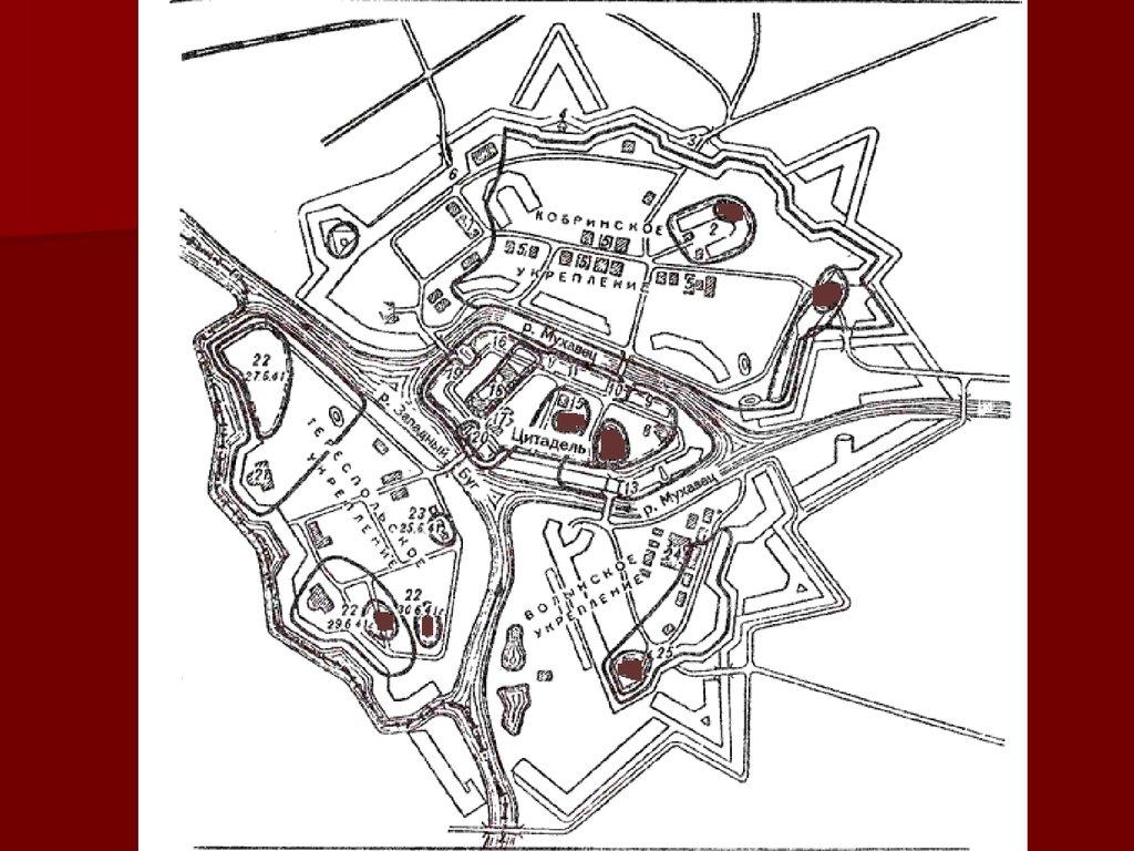 детальная схема с фотографиями брестской крепости обустройстве кровли металлочерепицы