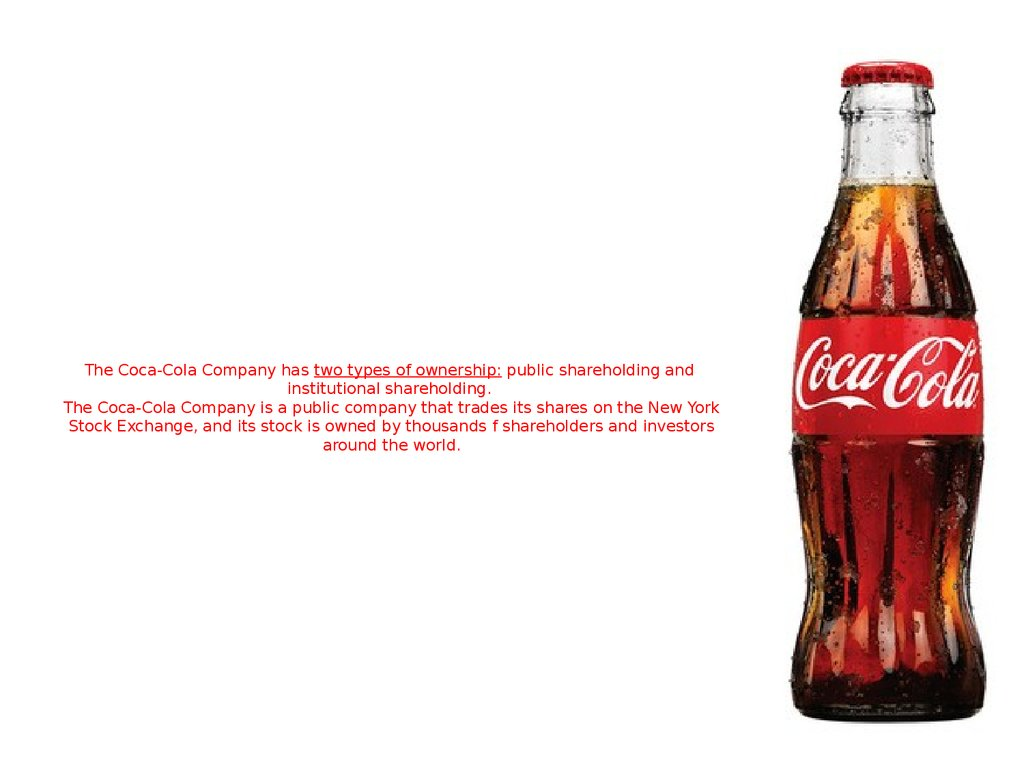 the coca cola company 2 essay