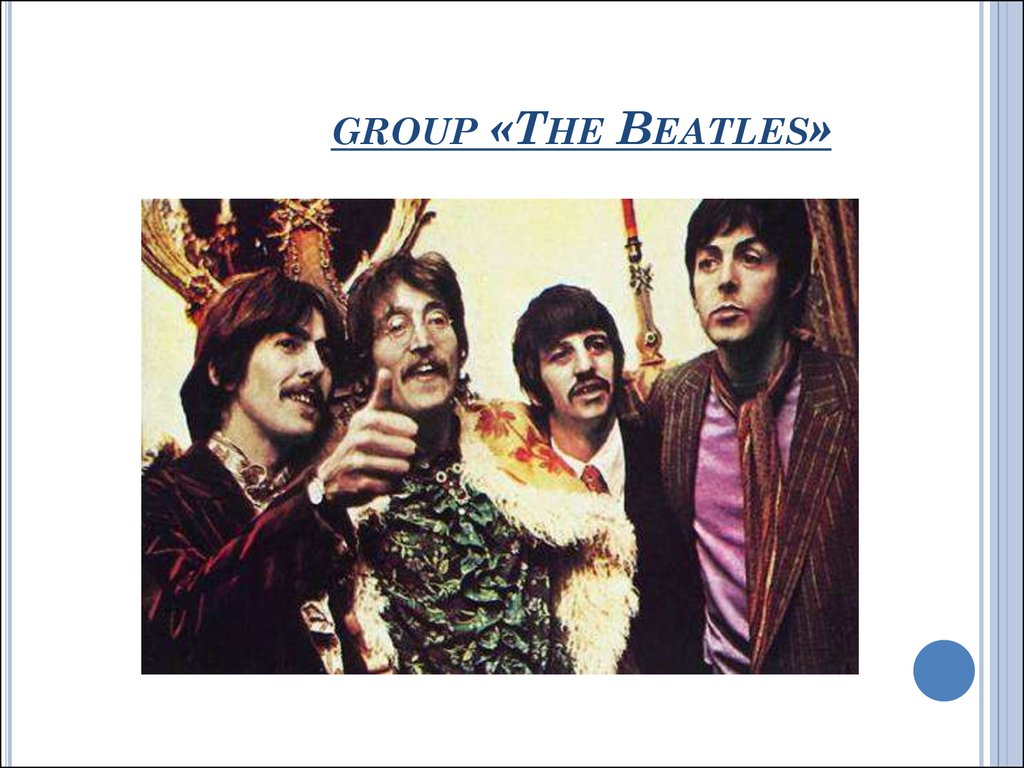 group «The Beatles»