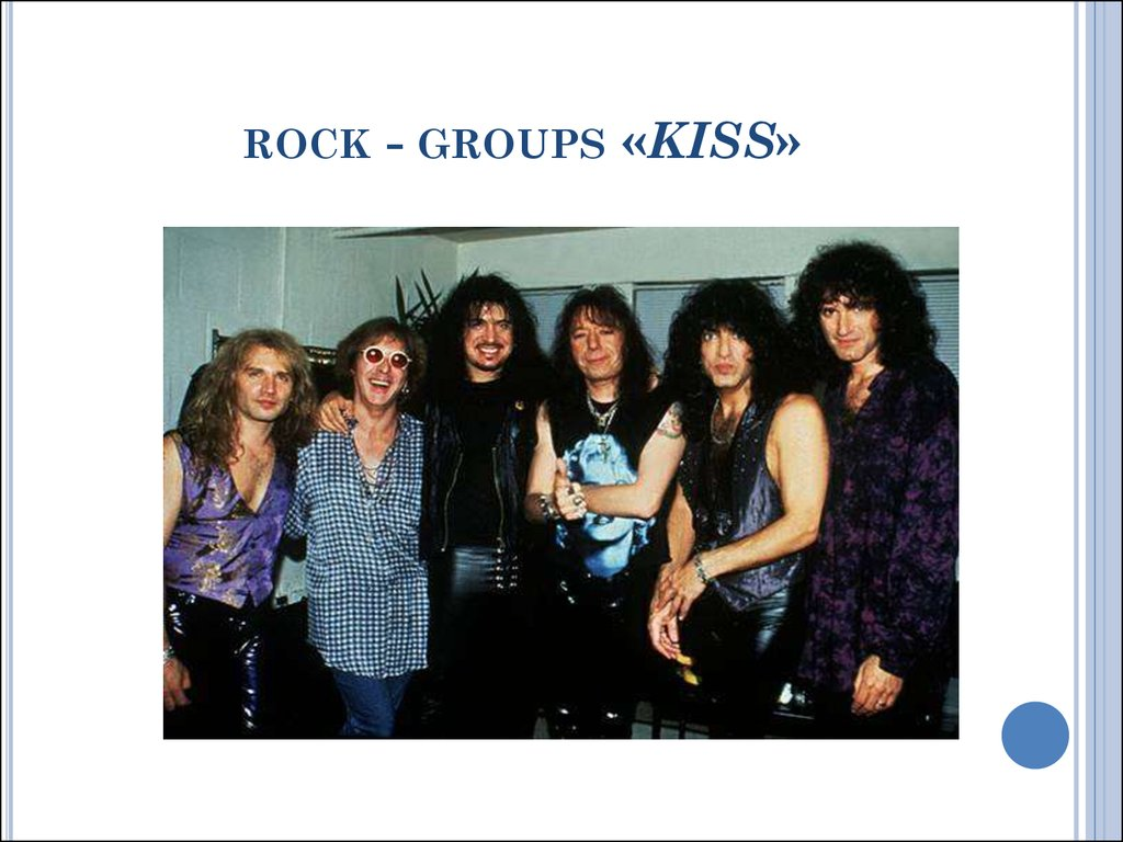 rock - groups «KISS»