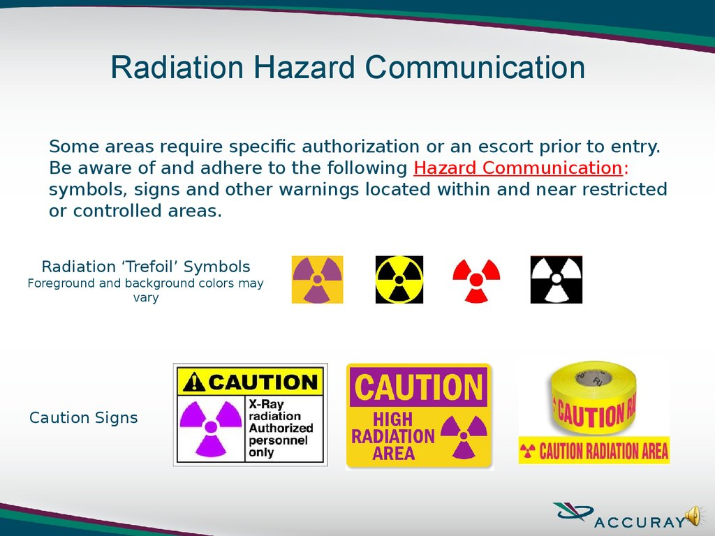Signs of radiation: meaning and history of appearance 39